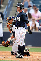 April 3, 2010:  Ryan Baker of the New York Yankees playing in the annual Futures Game during Spring Training at Legends Field in Tampa, Florida.  Photo By Mike Janes/Four Seam Images