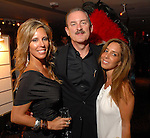 Lori Gralapp, Steve Cunningham and Victoria Veldekens at the Casino Night for The Health Museum at the Hotel ZaZa Saturday  Aug. 23,2008.(Dave Rossman/For the Chronicle)