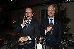 "GAETANO MACCAFERRI ED AURELIO REGINA <br /> PRESENTAZIONE SIGARO TOSCANO ""OPERA "" MST A VILLA AURELIA  ROMA 2014"