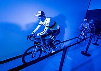 World Champion Mads Pedersen (DEN/Trek-Segafredo) at the Teams Presentation Start Show<br /> <br /> 75th Omloop Het Nieuwsblad 2020 (1.UWT)<br /> Gent to Ninove (BEL): 200km<br /> <br /> ©kramon