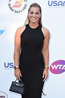 Dominika Cibulkova<br /> arriving for the Tennis on the Thames WTA event in Bernie Spain Gardens, South Bank, London<br /> <br /> ©Ash Knotek  D3412  28/06/2018