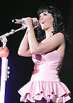 Katy Perry performs live as an opening act for No Doubt at Verizon Wireless Ampitheatre in Irvine, California on August 04,2009                                                                   Copyright 2009 Debbie VanStory / RockinExposures