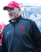 Mike DiMella (BU - Equipment Manager) - The teams walked the red carpet through the Fan Fest outside TD Garden prior to the Frozen Four final on Saturday, April 11, 2015, in Boston, Massachusetts.