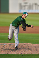 Daytona Tortugas pitcher Hayden Shenefield (4) during a game against the Bradenton Marauders on June 12, 2021 at LECOM Park in Bradenton, Florida.  (Mike Janes/Four Seam Images)