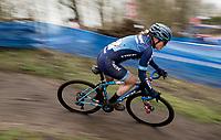 Katie Compton (USA/KFC-Trek)<br /> <br /> 2021 Flandriencross Hamme (BEL)<br /> women's race<br /> <br /> ©kramon