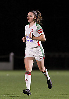 Estee Cattoor (11 OHL) runs during a female soccer game between Oud Heverlee Leuven and Sporting de Charleroi on the seventh matchday of the 2020 - 2021 season of Belgian Womens Super League , sunday 15 th of November 2020  in Heverlee , Belgium . PHOTO SPORTPIX.BE | SPP | SEVIL OKTEM