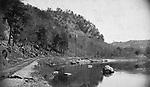 A view of High Rock Grove in Naugatuck circa 1887.