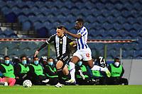 20th December 2020; Dragao Stadium, Porto, Portugal; Portuguese Championship 2020/2021, FC Porto versus Nacional; Zaidu Sanusi of FC Porto and João Camacho of Nacional