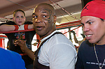 Mike Tyson at Gleason's Gym 2004
