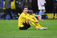 14th April 2021; Induna Park, Dortmund, Germany; UEFA Champions League Football quarter-final, Borussia Dortmund versus Manchester City;   Mats Hummels Borussia Dortmund disappointed