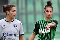 Martina Lenzini of Sassuolo reacts during the women Serie A football match between US Sassuolo and Hellas Verona at Enzo Ricci stadium in Sassuolo (Italy), November 15th, 2020. Photo Andrea Staccioli / Insidefoto