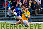Gavin White, Kerry in action against James McEntee, Meath during the Allianz Football League Division 1 Round 4 match between Kerry and Meath at Fitzgerald Stadium in Killarney, on Sunday.