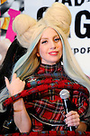 December 1st, 2013 : Tokyo, Japan - Lady Gaga, an American pop music star, talked about her new album, ARTPOP, at a press conference at Roppongi Hills, Roppongi, Minato, Tokyo, Japan on December 1, 2013. (Photo by Koichiro Suzuki/AFLO)
