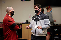 Stanford Football Pro Timing Day, March 18, 2021