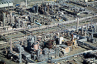 aerial photography Chevron Richmond Refinery, Richmond, California