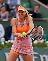 France, Paris, 03.06.2014. Tennis, French Open, Roland Garros, Maria Sharapova (RUS<br /> Photo:Tennisimages/Henk Koster