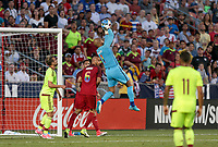 Sandy, UT - Saturday June 3, 2017: The U.S. Men's National team go down 0-1 to Venezuela during an international friendly tune up match leading up to their WCQ Hex games at Rio Tinto Stadium.