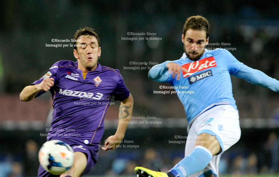 - NAPOLI 23 MAR  -  Stadio San Paolo    Napoli -  Fiorentina<br />  nella foto Higuain