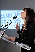 Montreal (QC) CANADA, April 3 , 2007<br />  l'auteure-compositeur-interprËte, comÈdienne et porte-parole provinciale<br />                             Madame Viviane Audet au <br /> lancement du premier projet de sensibilisation d'envergure provinciale<br />     la Marche de la mÈmoire RONA organisÈe par la FÈdÈration quÈbÈcoise des<br />                              sociÈtÈs Alzheimer. en prÈsence de<br />     l'auteure-compositeur-interprËte, comÈdienne et porte-parole provinciale<br />                             Madame Viviane Audet,<br />     Monsieur Bruno Labrie (ex-acadÈmicien, auteur-compositeur-interprËte),<br />                  Madame Joe Bocan (chanteuse et comÈdienne),<br />                      Monsieur Emmanuel Auger (comÈdien),<br />     Monsieur Michel Dumont, directeur artistique de la Compagnie Jean Duceppe<br />                depuis 1991, figure de proue du milieu culturel<br />       ainsi que de nombreuses personnalitÈs du milieu artistique et des<br />                                   affaires.<br /> <br /> <br /> <br /> <br /> <br /> photo (c)  Pierre Roussel - Images Distribution