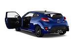 Car images of 2016 Hyundai Veloster 1.6-Turbo-Manual 4 Door Hatchback Doors