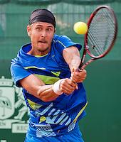 The Hague, Netherlands, 26 July, 2016, Tennis,  The Hague Open, Gleb Sakharov (FRA)<br /> Photo: Henk Koster/tennisimages.com