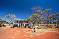 The tiny and remote Yeo Lake Homestead in Western Australia