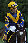 HOT SPRINGS, AR - MARCH 12: Jockey Corey Nakatani aboard Nickname (4) before the running of the Honeybee Stakes at Oaklawn Park on March 12, 2016 in Hot Springs, Arkansas. (Photo by Justin Manning)