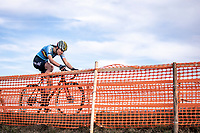 Julie De Wilde (BEL)<br /> <br /> Women's Junior race<br /> UCI 2020 Cyclocross World Championships<br /> Dübendorf / Switzerland<br /> <br /> ©kramon