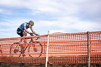 Julie De Wilde (BEL)<br /> <br /> Women's Junior race<br /> UCI 2020 Cyclocross World Championships<br /> Dübendorf / Switzerland<br /> <br /> ©kramon