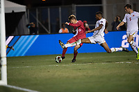 Santa Barbara, CA - Friday, December 7, 2018:  Maryland men's soccer defeated Indiana 2-0 in a semi-final match in the 2018 College Cup.  Justin Rennicks