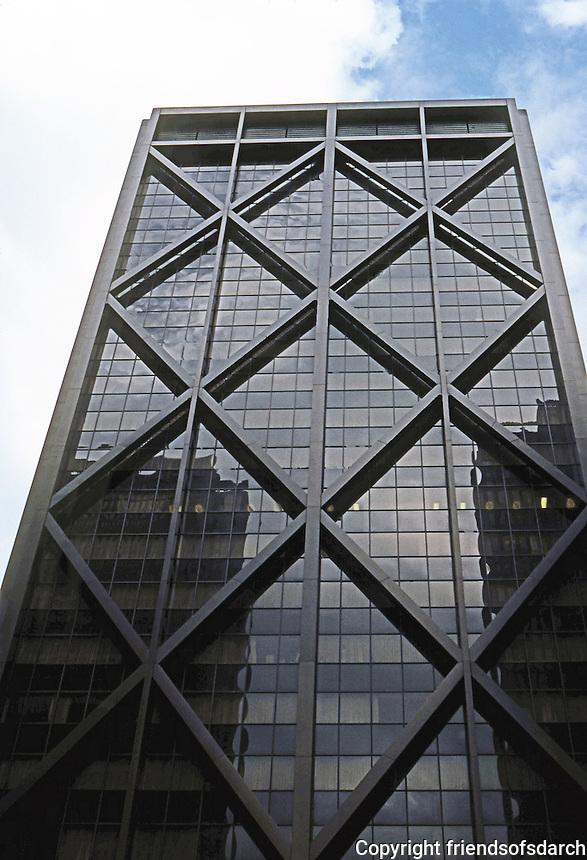 San Francisco:  Alcoa Building--Front St., narrow elevation. S-O-M 1964.  Photo '78.