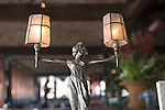Statue, Boulevard Restaurant, San Francisco, California