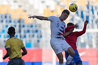 CARSON, CA - FEBRUARY 1: Walker Zimmerman #5 of the United States during a game between Costa Rica and USMNT at Dignity Health Sports Park on February 1, 2020 in Carson, California during a game between Costa Rica and USMNT at Dignity Health Sports Park on February 1, 2020 in Carson, California.