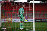 Laurie Walker of MK Dons F.C. during Stevenage vs MK Dons, EFL Trophy Football at the Lamex Stadium on 6th October 2020