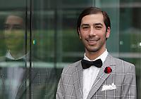 Carlos Medina  au Gala Phenicia de la Chambre de Commerce LGBT du Québec, tenu au Parquet de la Caisse de Depots et Placements du Quebec, jeudi, 26 mai 2016.<br /> <br /> <br /> PHOTO : Pierre Roussel -  Agence Quebec Presse