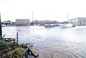 Heavy rains cause flash flooding on Chef Menteur near Louisa Sat., Aug. 18, 2018.