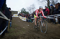 Julien Taramarcaz' (CHE) first appearance in his brand new Kwadro-Stannah kit<br /> <br /> GP Sven Nys 2014