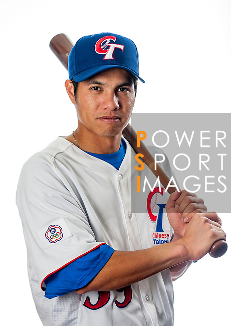 Chang, Cheng-Wei of Team Chinese Taipei poses during WBC Photo Day on February 25, 2013 in Taichung, Taiwan. Photo by Victor Fraile / The Power of Sport Images