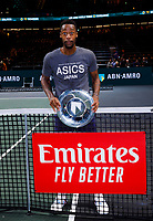 Rotterdam, The Netherlands, 16 Februari 2020, ABNAMRO World Tennis Tournament, Ahoy,<br /> Mens Single Final: Gaël Monfils (FRA) <br /> Photo: www.tennisimages.com
