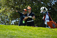 STANFORD, CA - MAY 10: Janice Olivencia, Clara Manzalini at Stanford Golf Course on May 10, 2021 in Stanford, California.