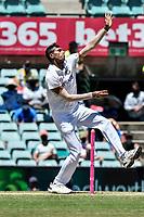 10th January 2021; Sydney Cricket Ground, Sydney, New South Wales, Australia; International Test Cricket, Third Test Day Four, Australia versus India; Navdeep Saini of India bowling