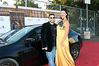 LOS ANGELES - SEP 25:  Ron Truppa and Steffanie Siebrand at the Catalina Film Festival Drive Thru Red Carpet, Friday at the Scottish Rite Event Center on September 25, 2020 in Long Beach, CA