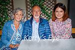 Enjoying the evening in the Ashe Hotel on Saturday, l to r: Liz, Gerard and Ciara Heaslip.
