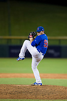 AZL Cubs relief pitcher Jeffrey Passantino (96) delivers a pitch to the plate against the AZL White Sox on August 13, 2017 at Sloan Park in Mesa, Arizona. AZL White Sox defeated the AZL Cubs 7-4. (Zachary Lucy/Four Seam Images)