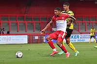 Luther Wildin of Stevenage FC during Stevenage vs Watford, Friendly Match Football at the Lamex Stadium on 27th July 2021