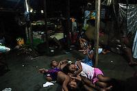 The lates minutes of light. Wounaan community. Panama