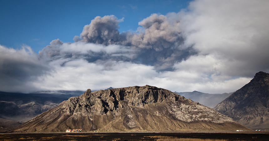 Eyjafjallajökull erupts in Iceland - May 2 2010