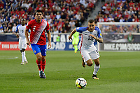 Harrison, NJ - Friday Sept. 01, 2017: Fabian Johnson during a 2017 FIFA World Cup Qualifier between the United States (USA) and Costa Rica (CRC) at Red Bull Arena.