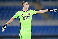 18th February 2021, Rome, Italy;  Bernd Leno of Arsenal FC during the UEFA Europa League round of 32 Leg 1 match between SL Benfica and Arsenal at Stadio Olimpico, Rome, Italy on 18 February 2021.