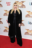 """LONDON, UK. October 09, 2019: Hayley Hasselhoff at the photocall for """"The X Factor: Celebrity"""", London.<br /> Picture: Steve Vas/Featureflash"""